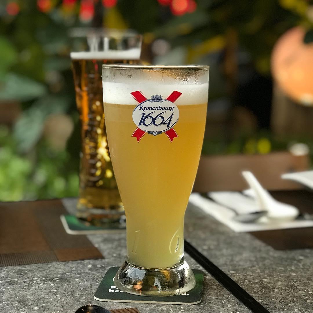 Free half-pint of Kronenbourg 1664 Blanc