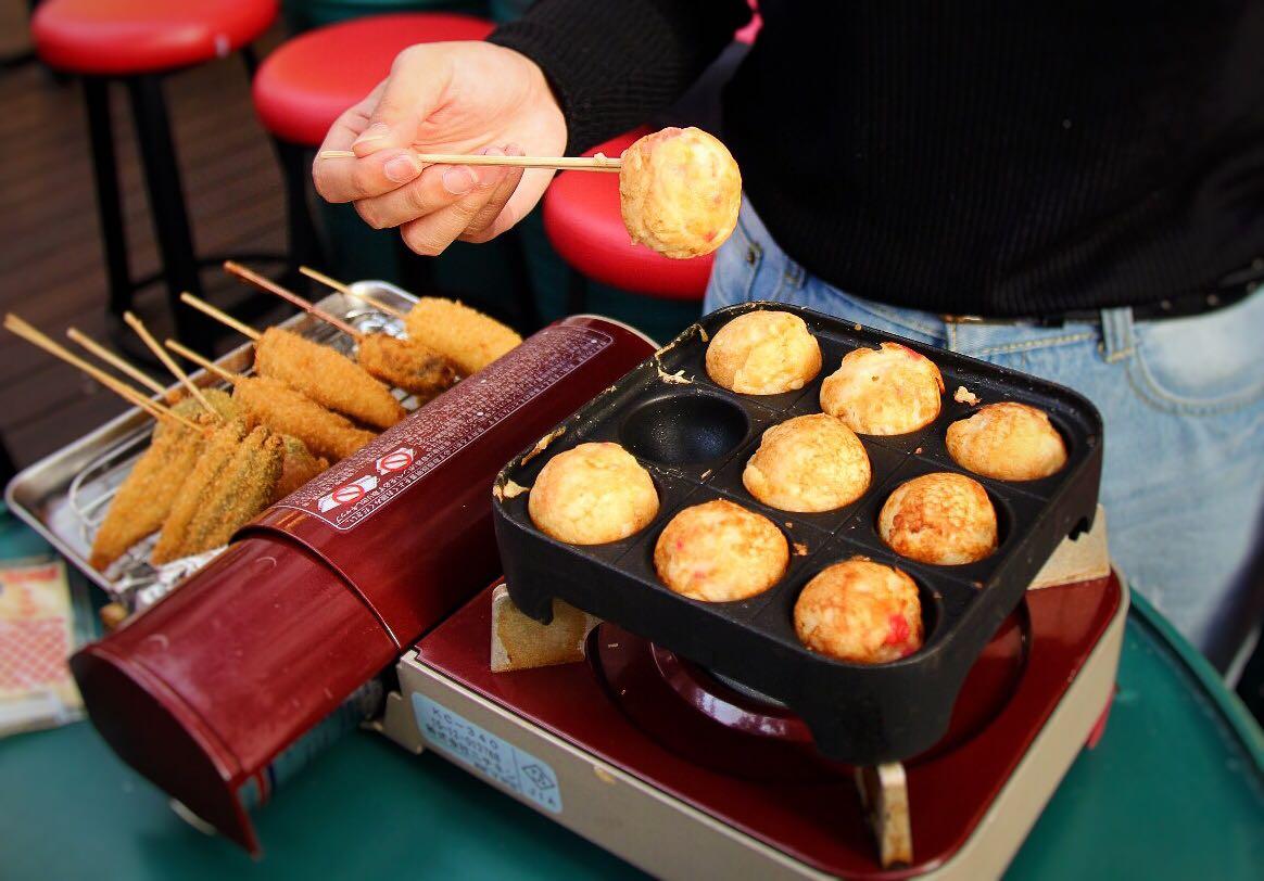 DIY Takoyaki buffet