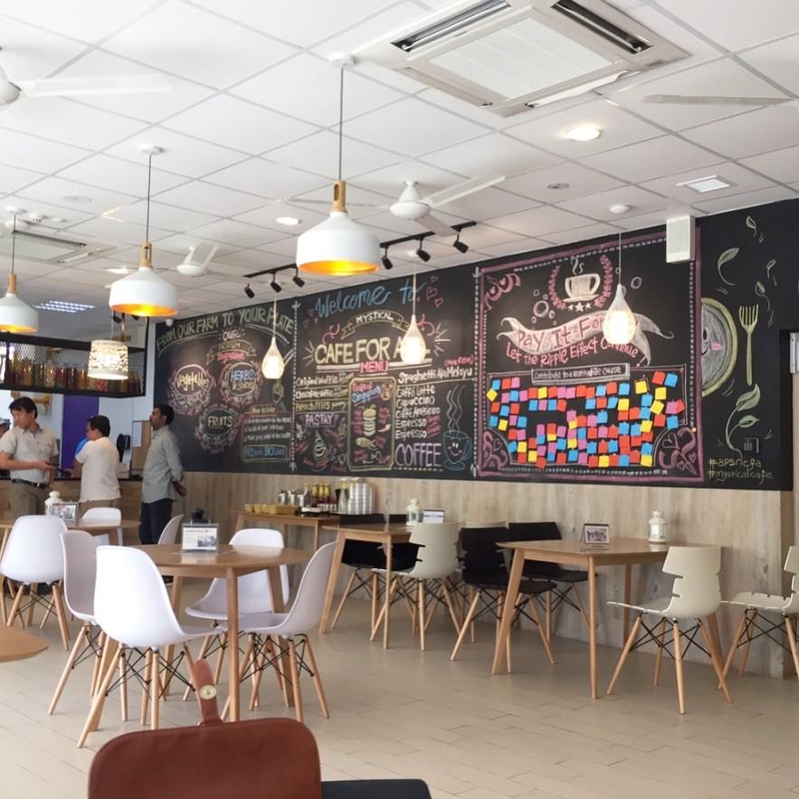 APSN Mystical Cafe For All - social enterprise cafe