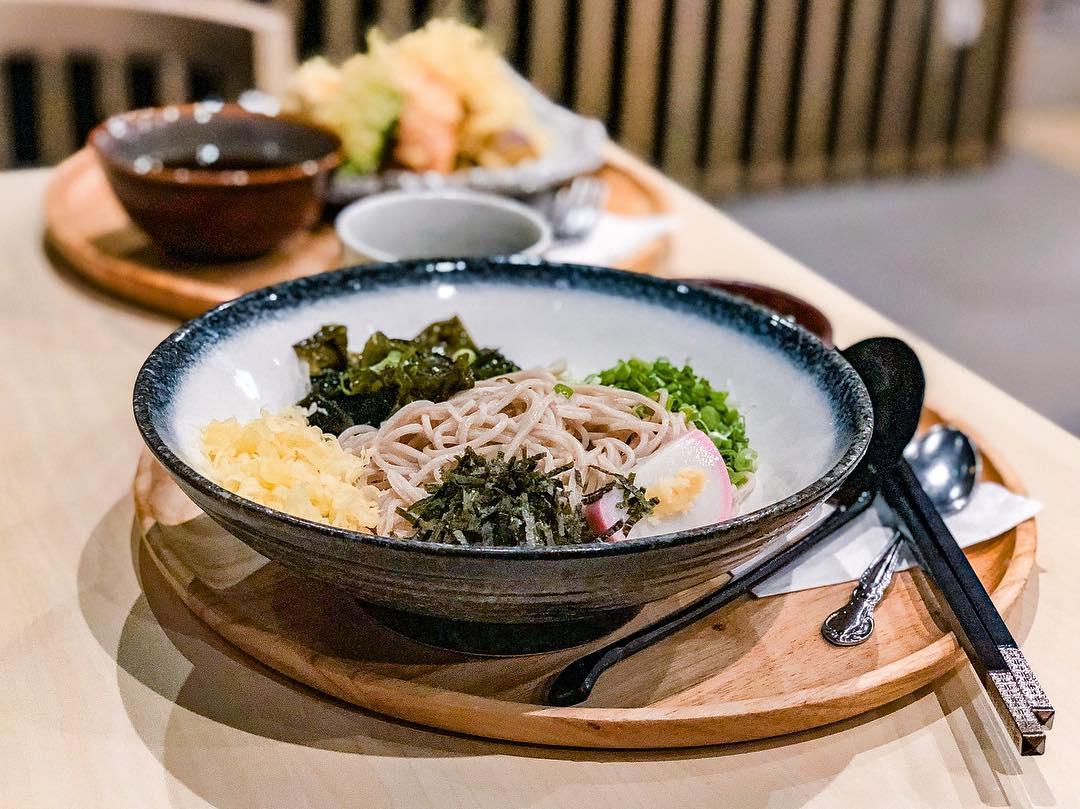 Yunomori Onsen & Spa food