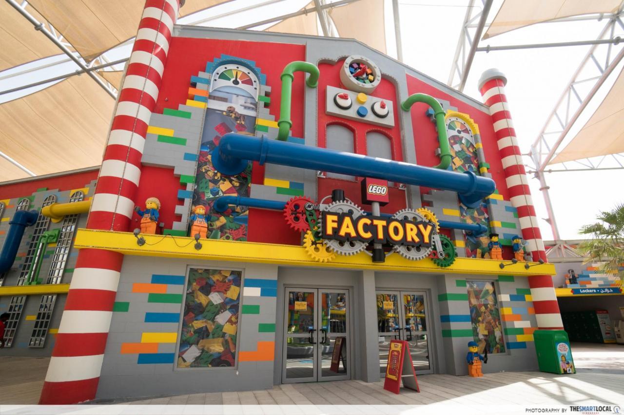 theme park dubai lego factory