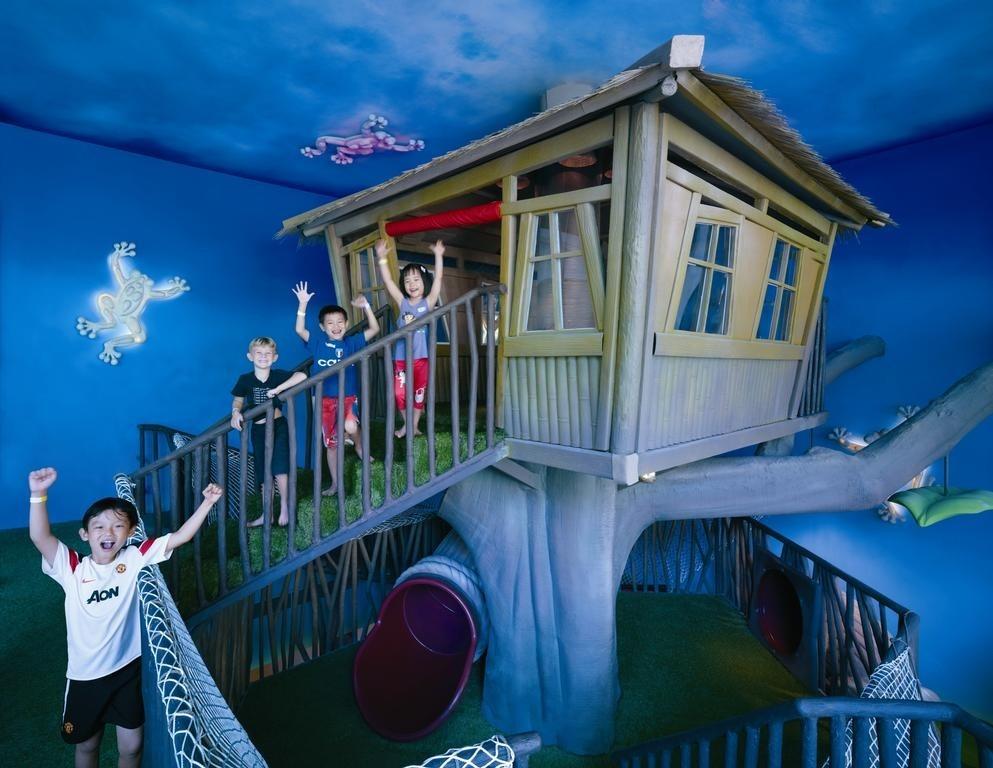 Family staycations - Shangri-La's Rasa Sentosa Resort & Spa