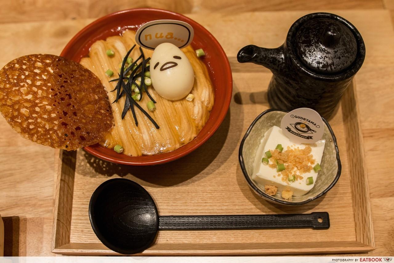 Gudetama Cafe Singapore Shoyu Ramen