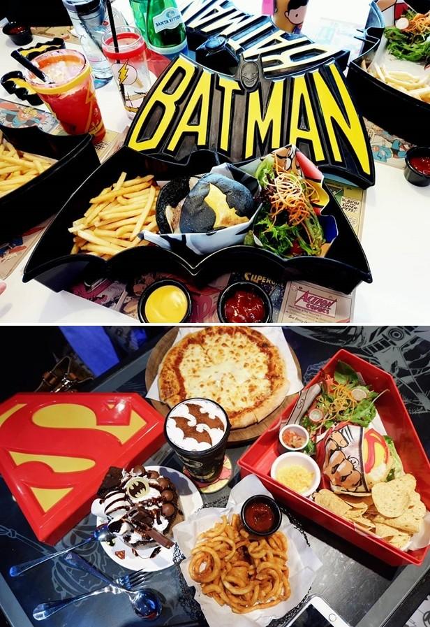 DC Comics Super Heroes Cafe Singapore