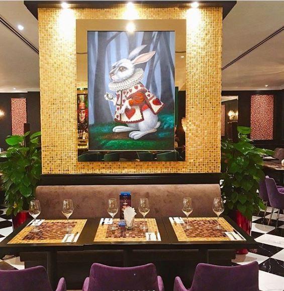 Wonderland Savour Alice in Wonderland cafe Singapore