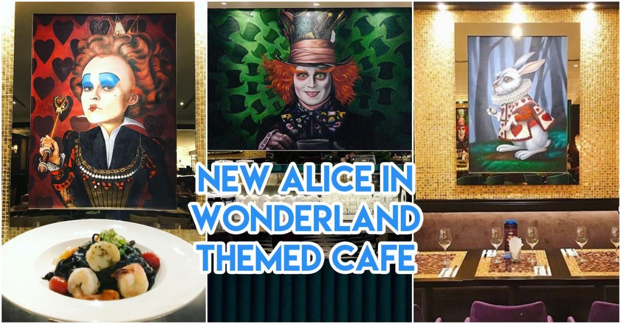 Wonderland Savour Alice in Wonderland themed restaurant Singapore