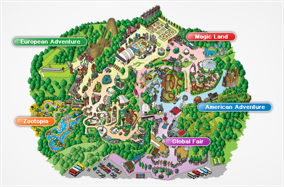 everland korea map