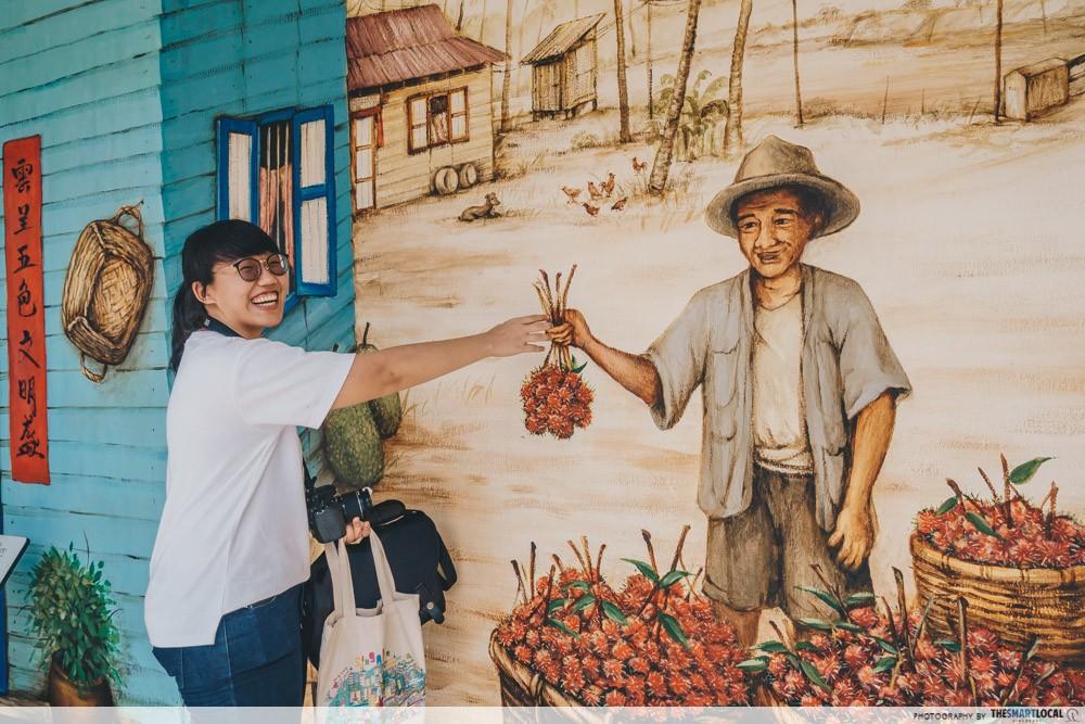 amk murals fruit selling