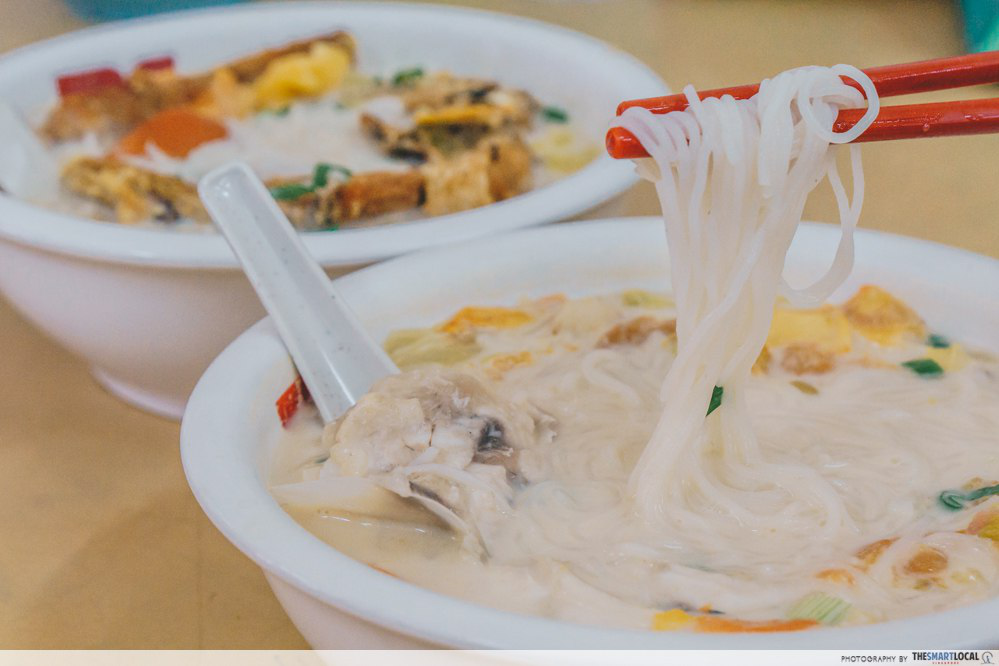 fish head noodle kaki bola