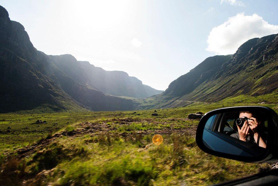 Loch Ness Lake drive