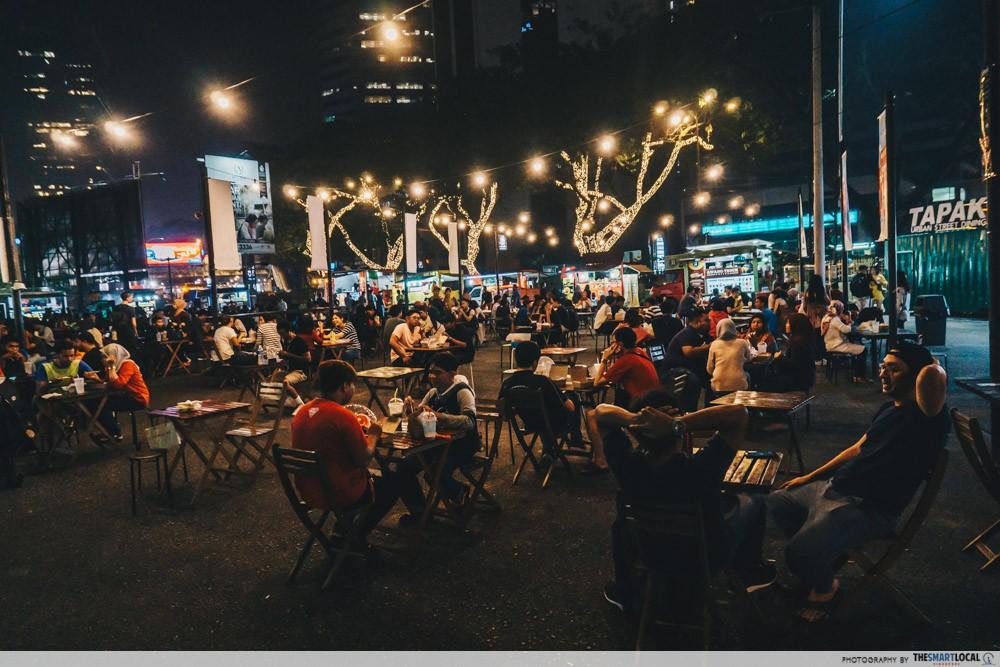 dining street area