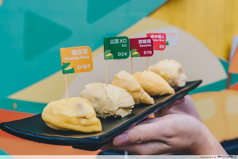 durian platter