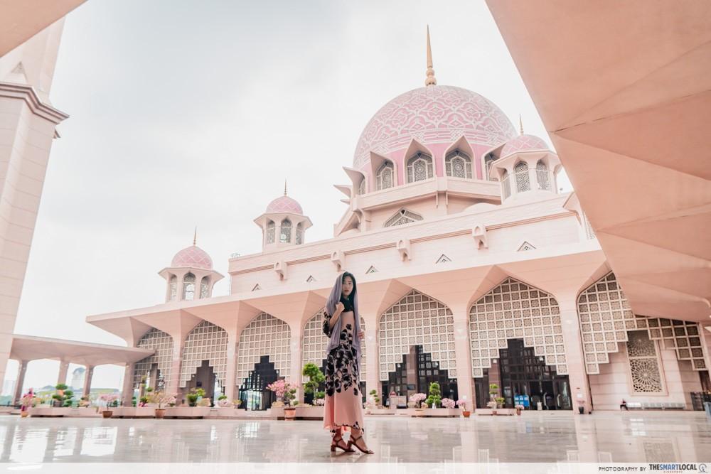 putra mosque square