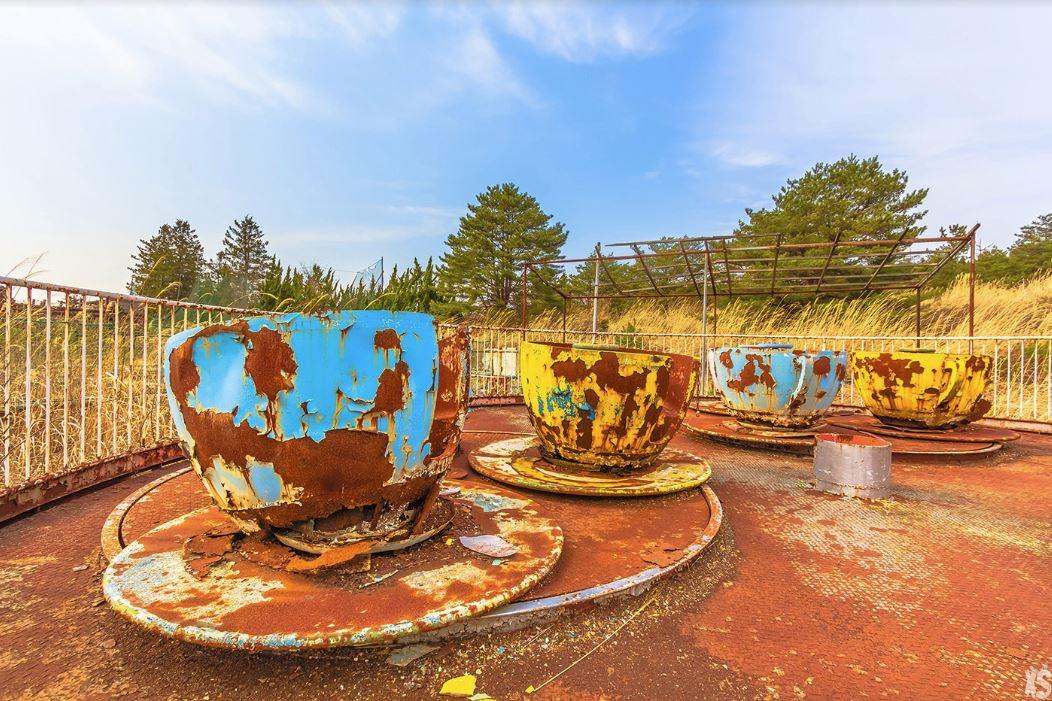Kejonuma Leisure Land teacup ride