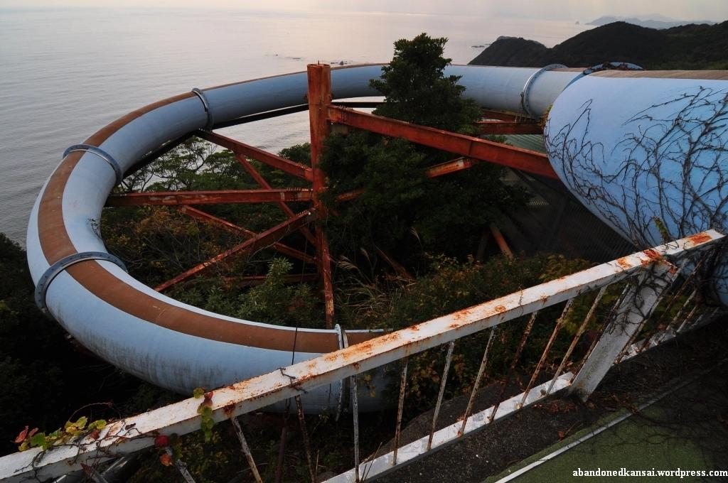 Tokushima Countryside Healthspa abandoned japan