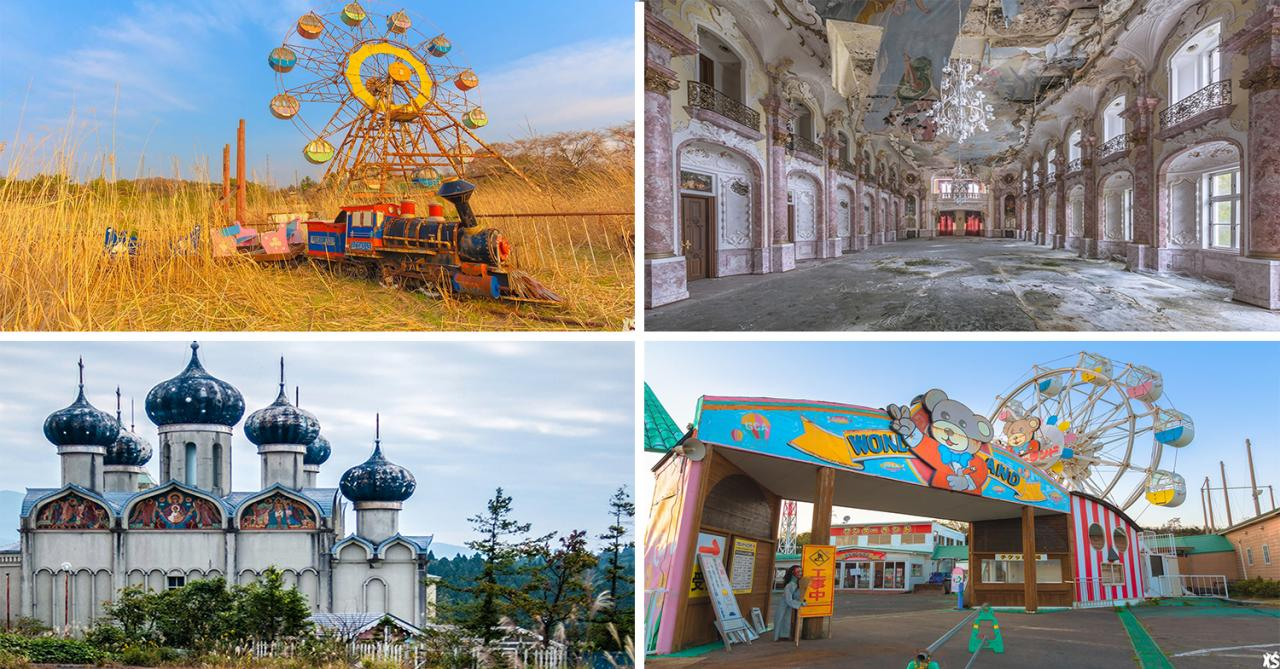 Abandoned theme parks in japan haikyo