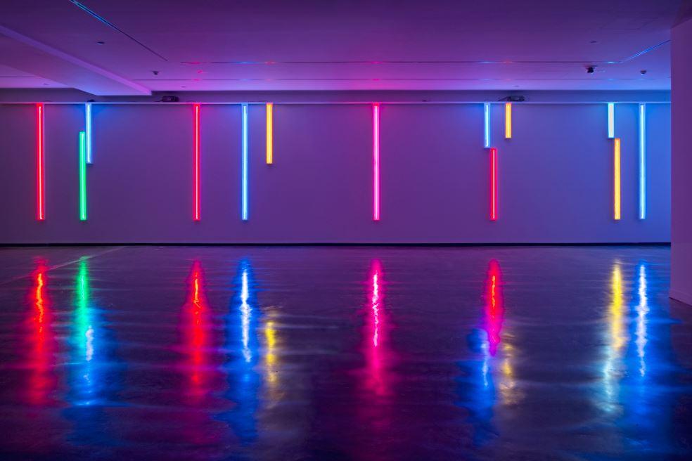neon light installations