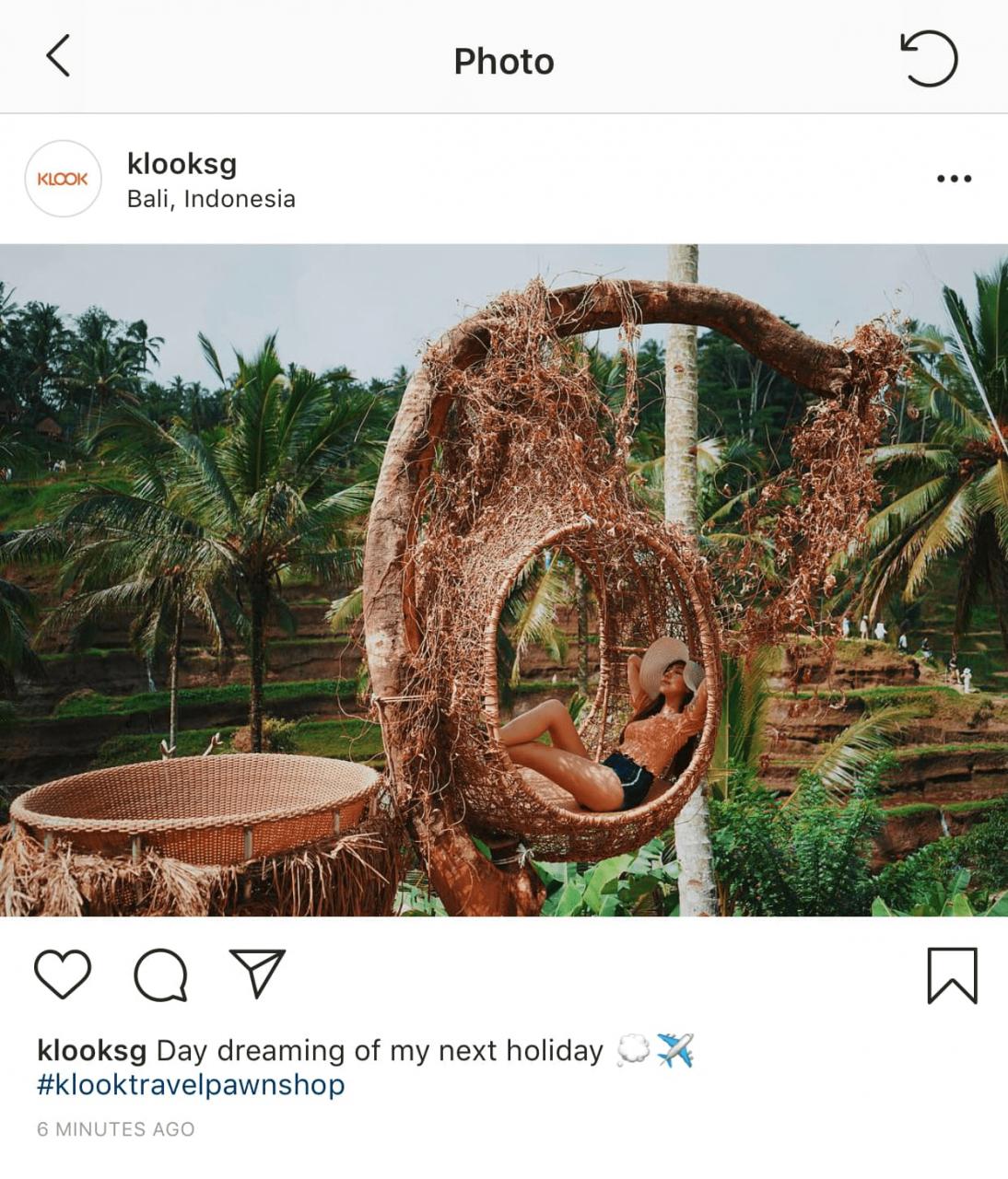 klook instagram