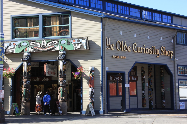 Seattle travel guide SIA - ye olde curiosity shop