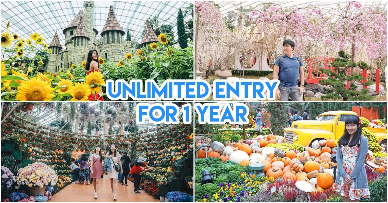 Gardens by the Bay membership discount DBS