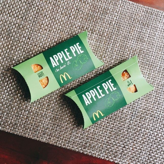 Gardens by the Bay free Apple Pie McDonald's