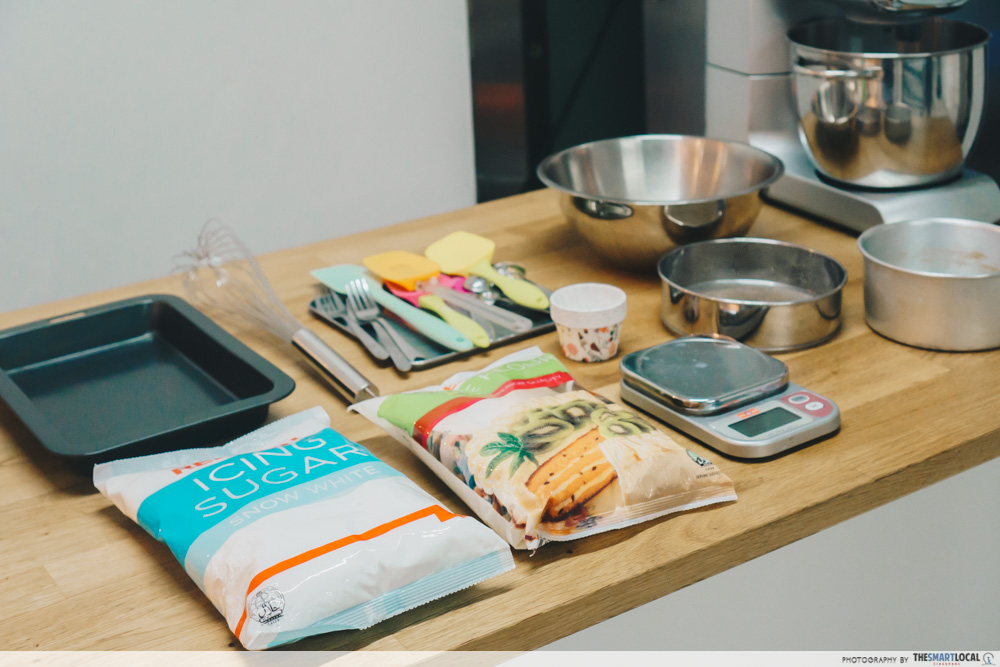 bakincalf baking studio & cakes baking equipment