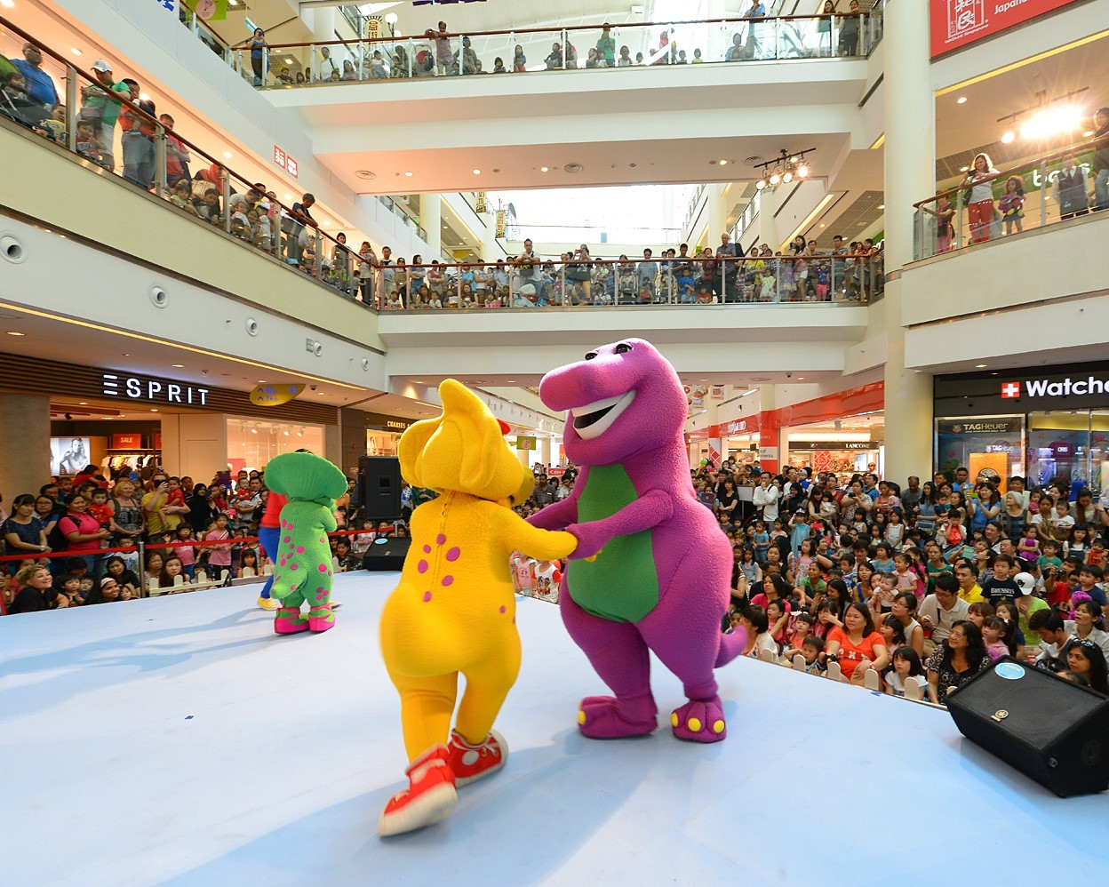 City Square Mall - Barney Christmas 2018