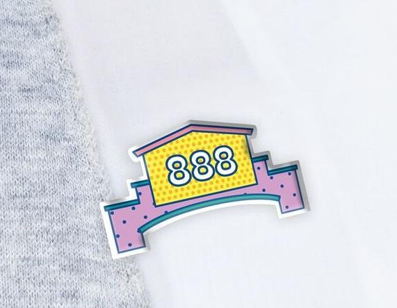 888 plaza badge
