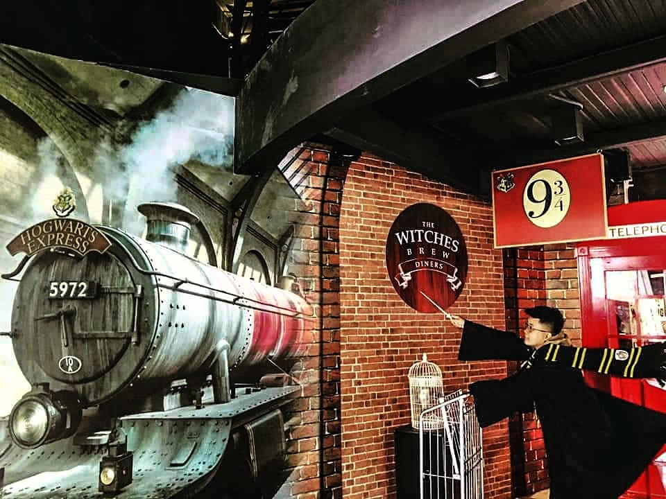 the witches brew platform 9 3/4