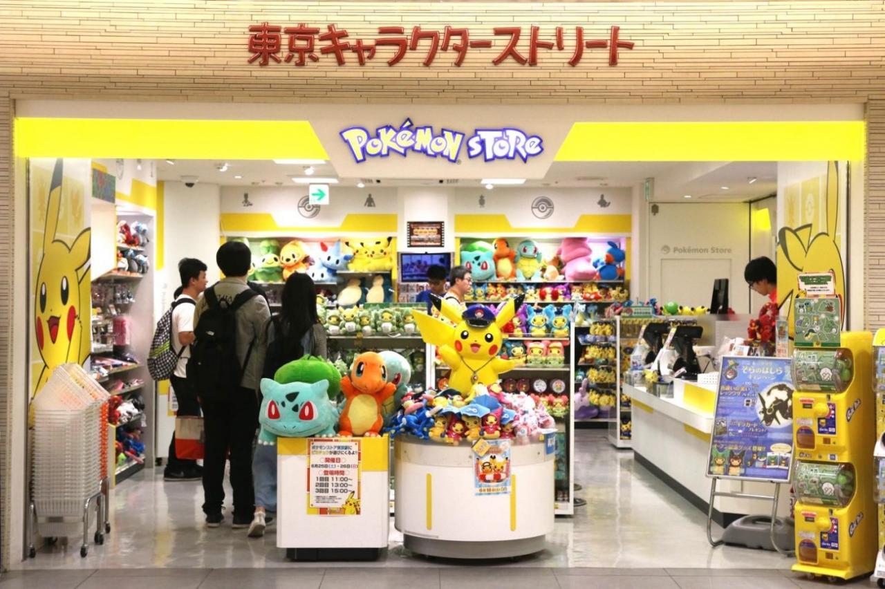 character street pokemon store
