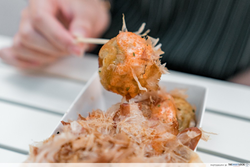 Whimsical Food Fair 2018 - Takoyaki X Local Twist