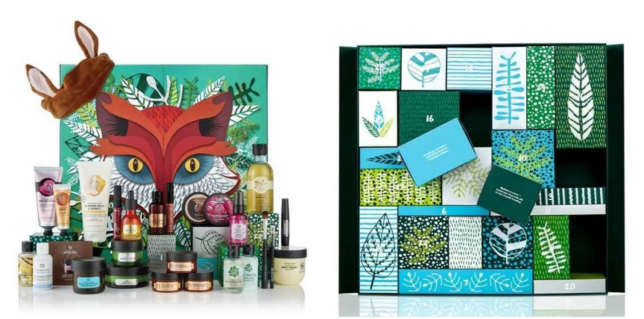 The Body Shop Advent Calendar 2018
