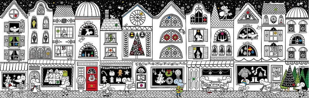 Colouring Book Advent Calendar 2018 Singapore