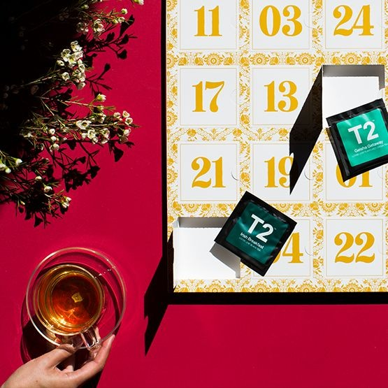 T2 tea Advent Calendar 2018