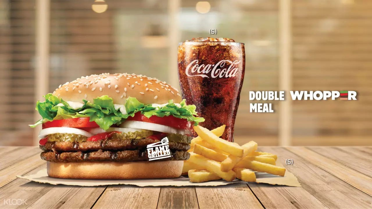 Burger King Klook discount