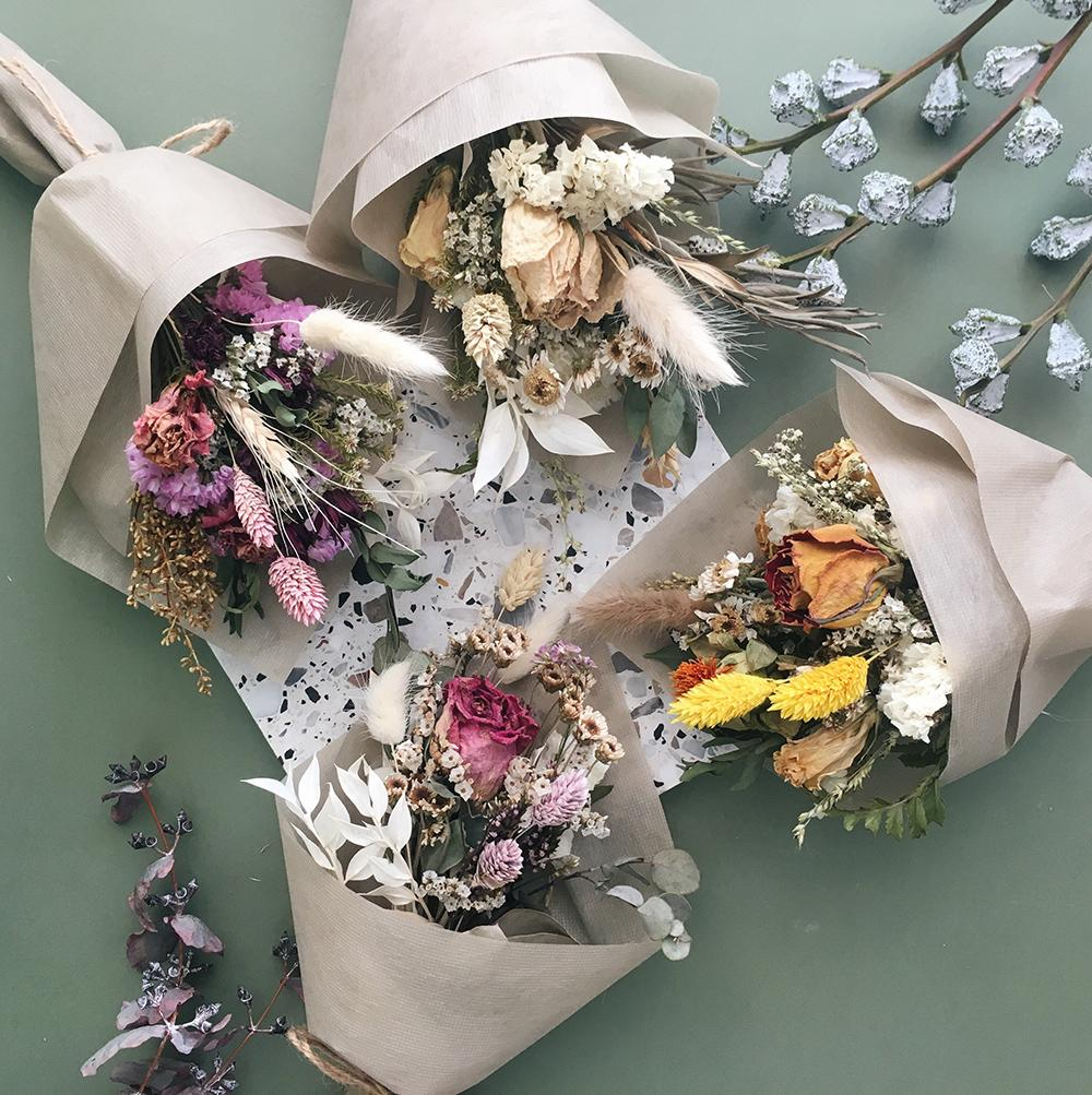 dried baby bouquets