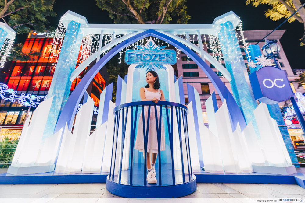frozen at orchard road