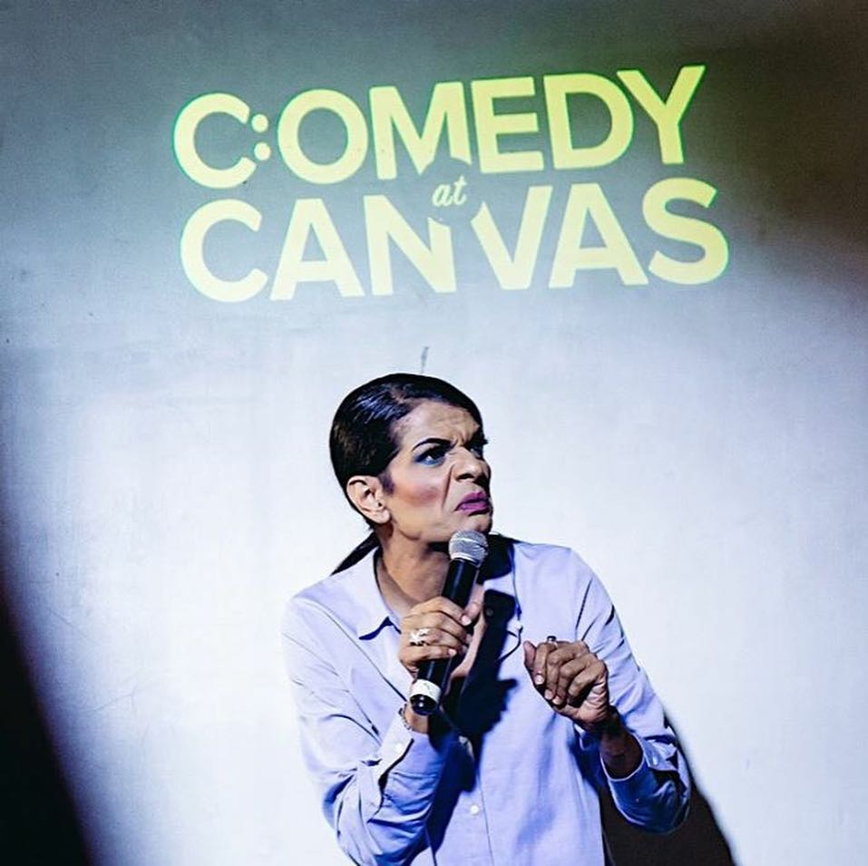 comedy at canvas with kumar