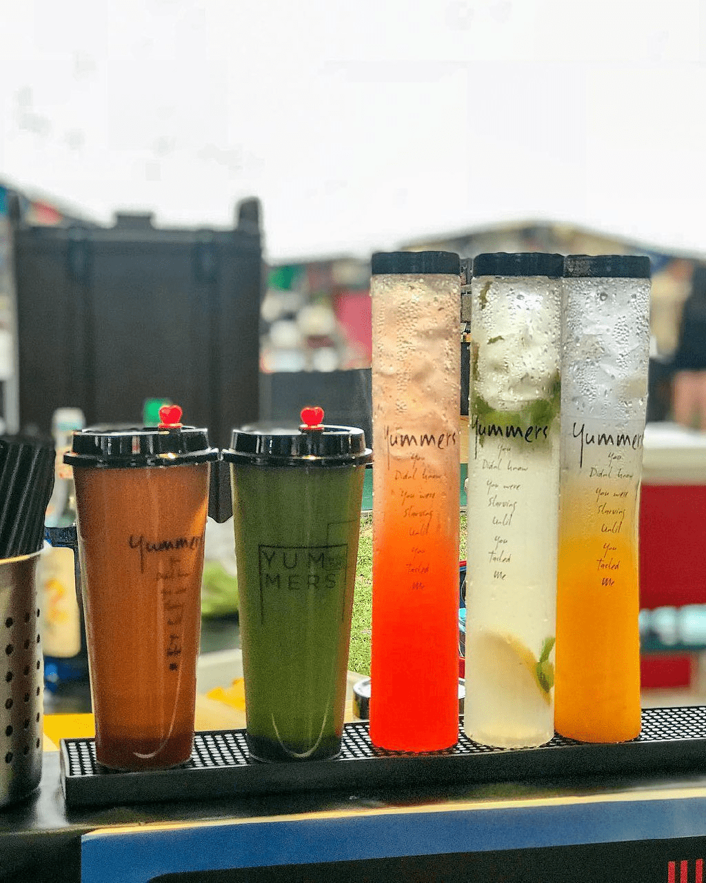 yummers gradient drinks