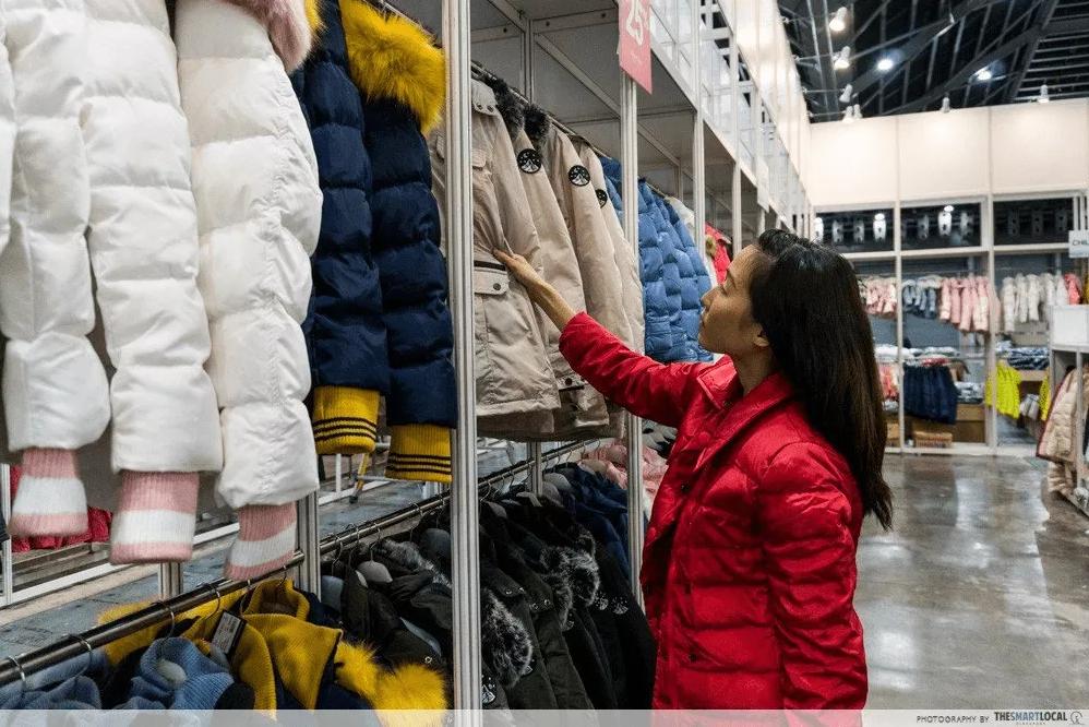 winter wear shopping