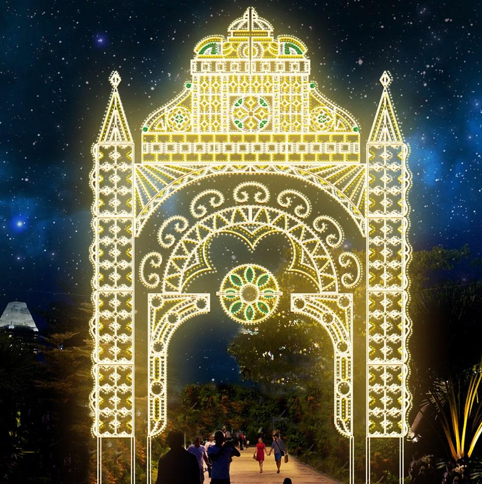 luminarie golden gate