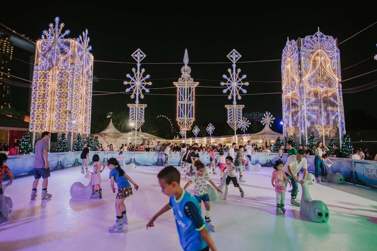 skating under the stars