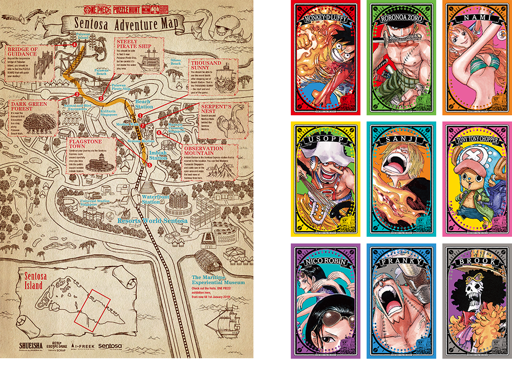 One Piece Puzzle Hunt 2019