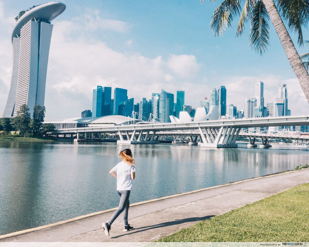 CBD running route Singapore