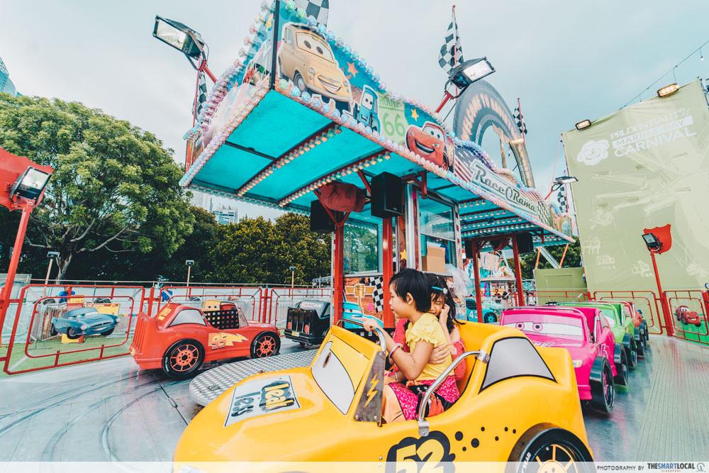 marina bay carnival kids ride