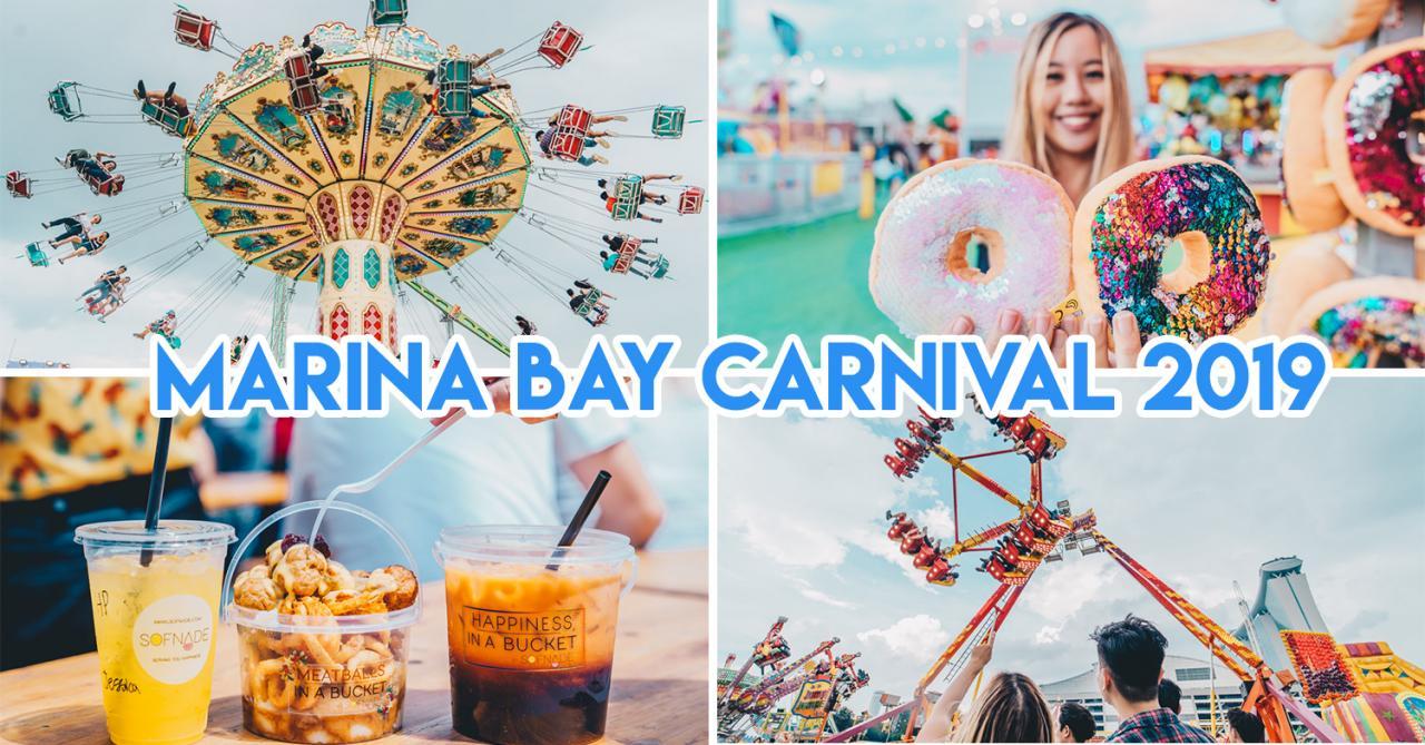 Marina Bay Carnival 2019 Guide: New Rides, Express Passes & More Games