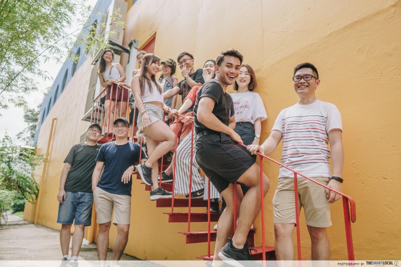 katong shopping centre staircase