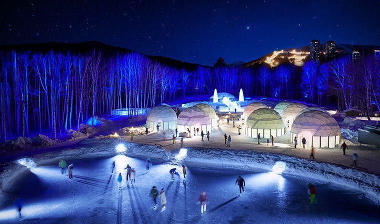 Hoshino Resort Tomamu ice hotel