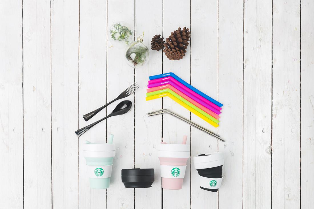 Starbucks reusable straw Singapore