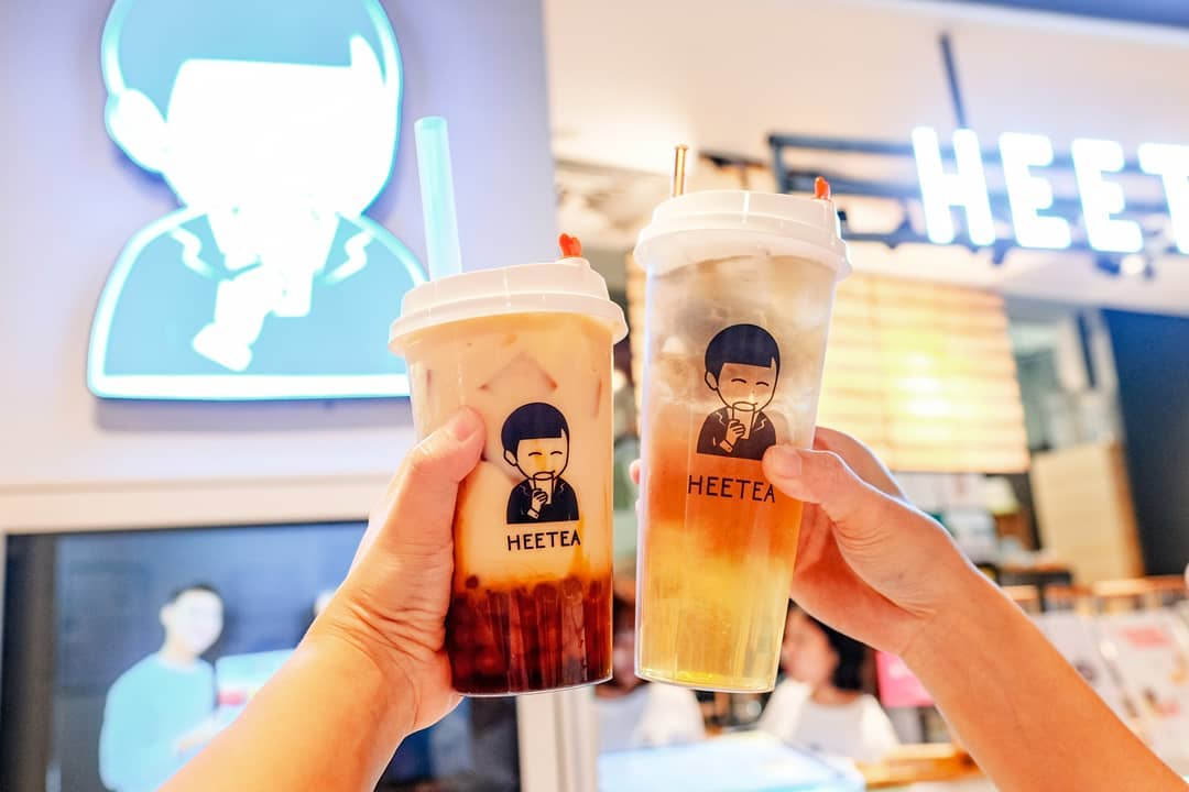 heetea bubble tea delivery